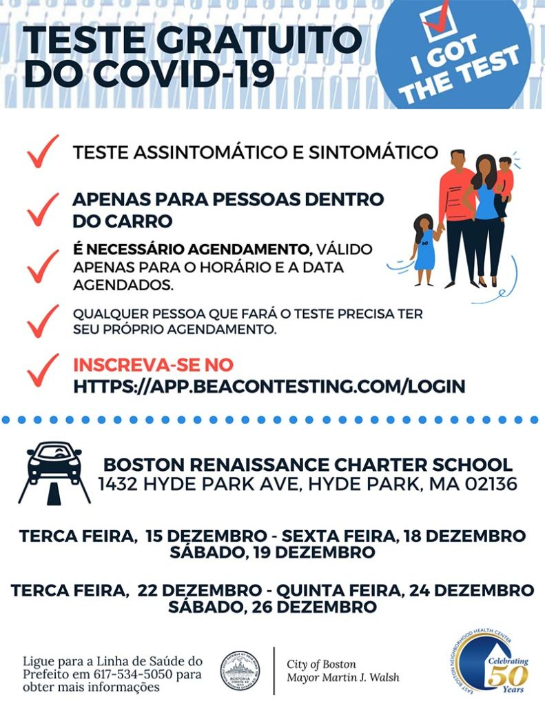 Brazilian Portuguese translation of flyer